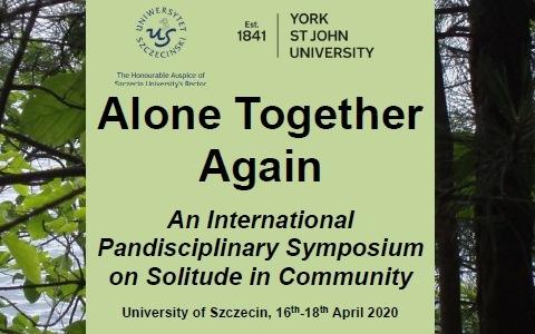 Alone Together Again (ATA) – II Międzynarodowa Konferencja o Samotności we Wspólnocie