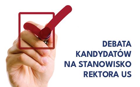 DEBATA REKTORSKA: informacje o transmisji on-line