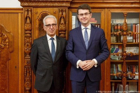 Wizyta ministra Piotra Müllera na US