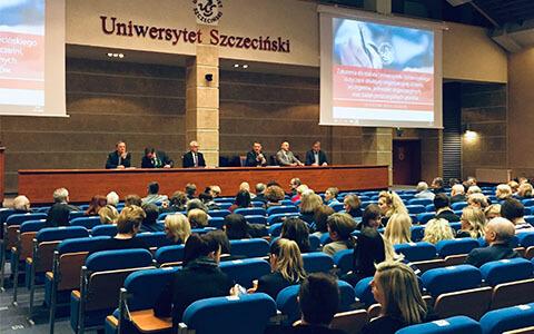 Relacja ze spotkania informacyjnego dot. zmian w strukturze organizacyjnej uczelni