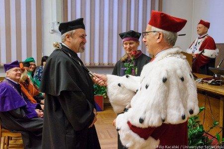 Promocja naukowców Uniwersytetu Szczecińskiego