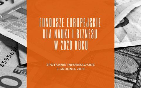 Spotkanie dot. pozyskiwania Funduszy Europejskich