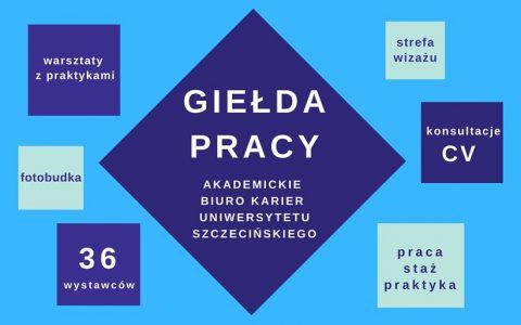 X Giełdy Pracy na Uniwersytecie Szczecińskim!
