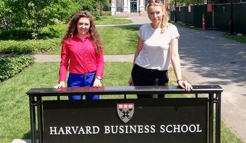 Doktorantki US w Harvard Business School w Bostonie