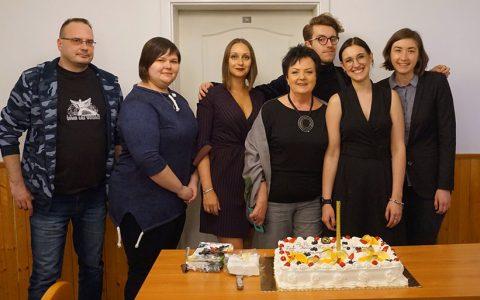 Huczne obchody 25-lecia Koła Młodych Językoznawców