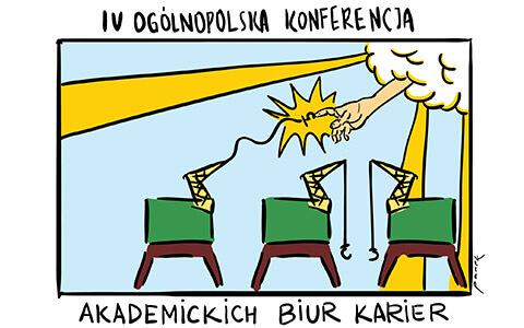 """""""Biura Karier 2.0 – moc współpracy na współczesnym rynku pracy""""."""