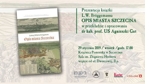 """Prezentacja książki """"Opis Miasta Szczecina"""""""