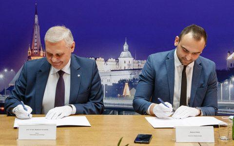 Podpisanie listu intencyjnego dotyczącego współpracy Uniwersytetu Szczecińskiego i Gminy Międzyzdroje