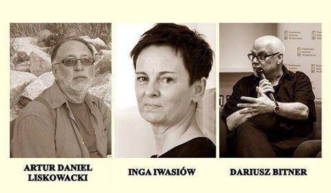 """Debata """"Być pisarzem w Szczecinie""""."""