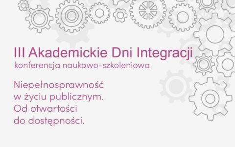 III Akademickie Dni Integracji – Wrocław 2021